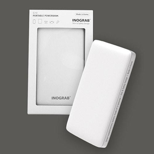 M 이노그랩 G10 보조배터리 10,000mAh - 국내제조, 인쇄가능