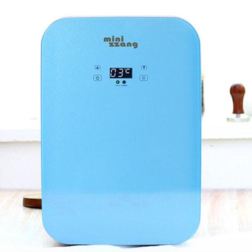 M [minizzang] 미니짱 고급형 20리터 미니냉온장고 MZ-20 블루