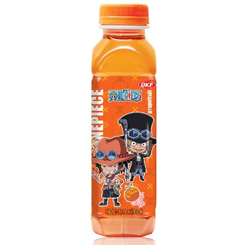 M (OKF) 오케이에프 원피스 이글이글열매 자몽음료주스 350ml x 24개입