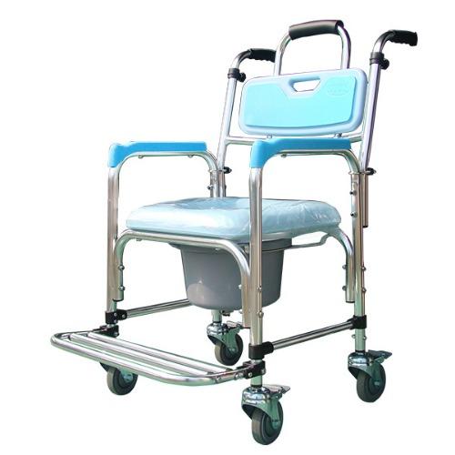 M 케어맥스 스테인레스 목욕의자 이동변기 SHC-201