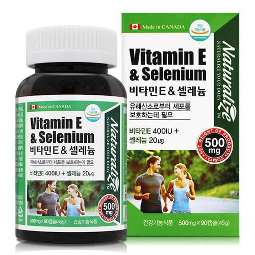 M 네추럴라이즈 비타민E & 셀레늄 90캡슐