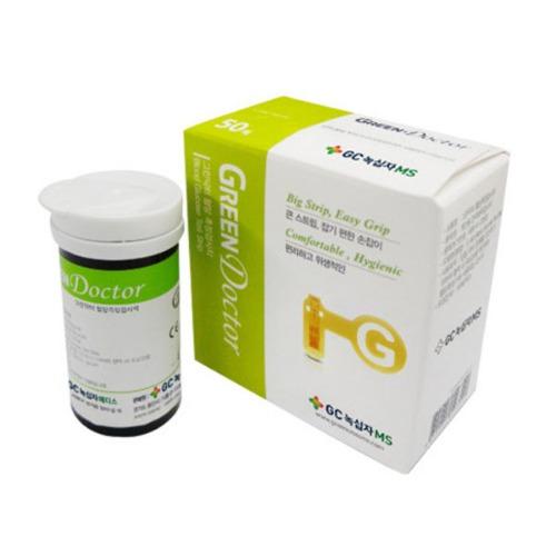 M 녹십자 그린닥터 혈당시험지 2박스 (총100매) - 그린닥터스트립