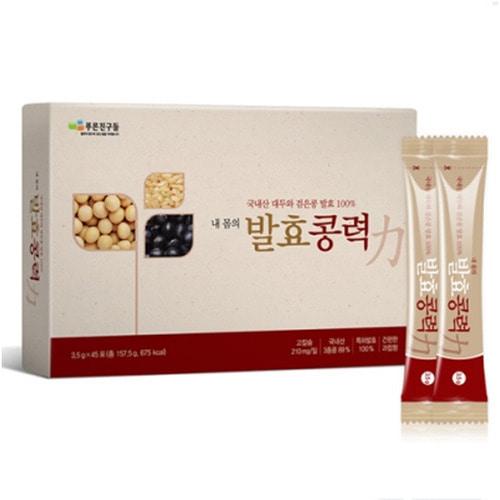 M 푸른친구들 내몸의 발효콩력 (3.5g X 45포) 10박스