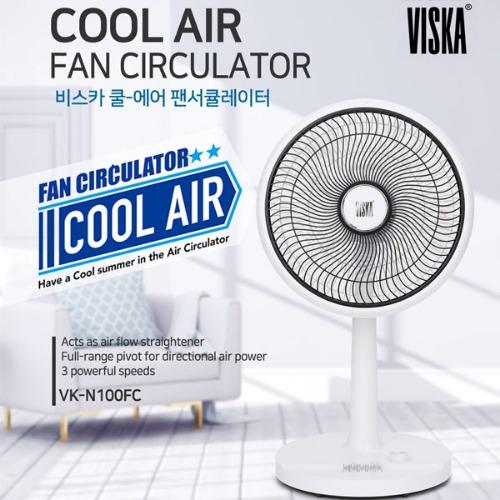 M 비스카 기계식 팬 써큘레이터 VK-N100FC