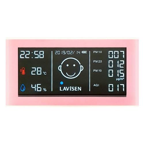 M 라비센 미세먼지측정기 LAVI-501 - 온습도계기능
