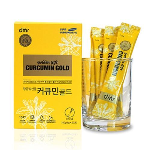 M 황금빛선물 커큐민골드 에브리타임 8g x 20포 - 강황앰플