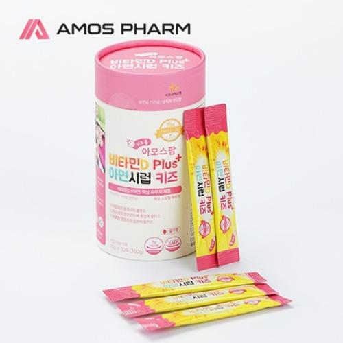 M 비타민D Plus 아연시럽 키즈 30포