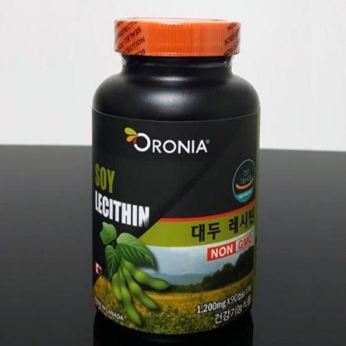 M 오로니아 대두레시틴 NON GMO 90캡슐
