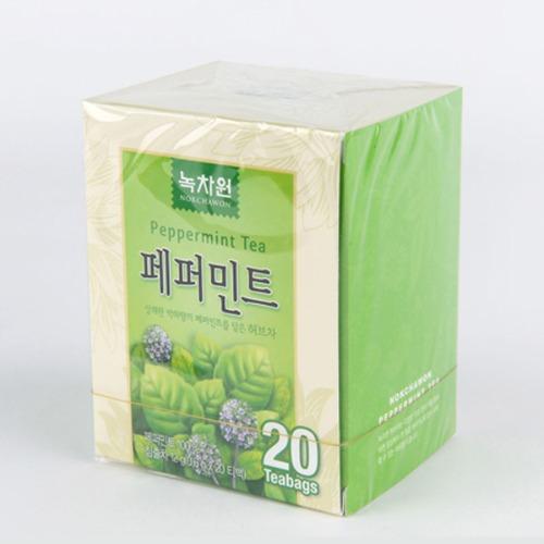 M 녹차원 페퍼민트 허브티 20T X 12갑