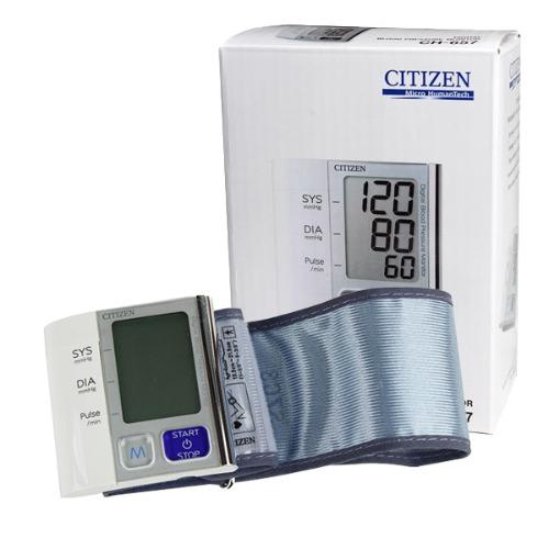 M 시티즌 손목형 전자혈압계 CH-657 - 손목혈압계