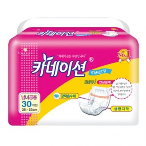 M 카네이션 속기저귀 라운드형패드 30매 1팩 - 성인용기저귀