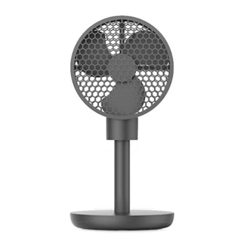 M 허니콤 6인치 무선선풍기 블랙 충전식 - 미니선풍기