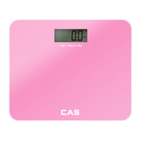 M 카스 프리미엄 디지털 체중계 핑크 HE-60