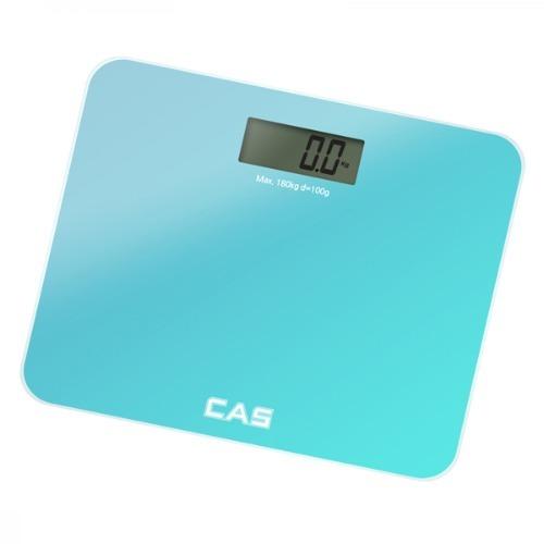 M 카스 프리미엄 디지털 체중계 블루 HE-60