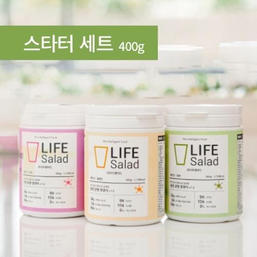 M 라이프샐러드 쉐이크 스타터 3종세트 (쉐이커1개포함) - 식사대용 간편식