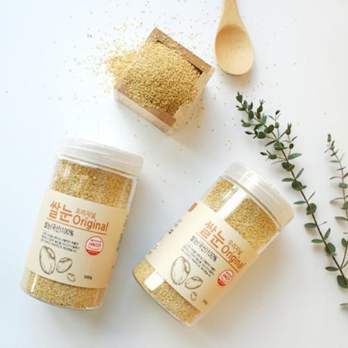 M 바비조아 현미쌀눈 오리지널 300g x 1통