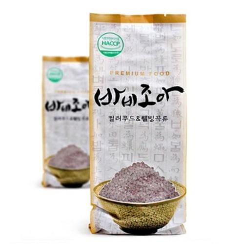 M 바비조아 자색고구마미 1kg x 1팩 - 자색고구마쌀