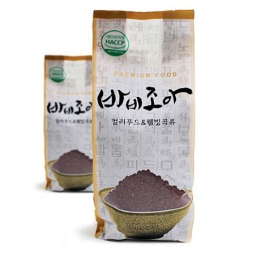 M 바비조아 백련초미 1kg x 1팩 - 백련초쌀