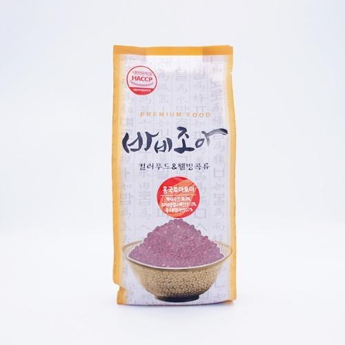 M 바비조아 홍국토마토미 1kg x 1팩 - 홍국토마토쌀
