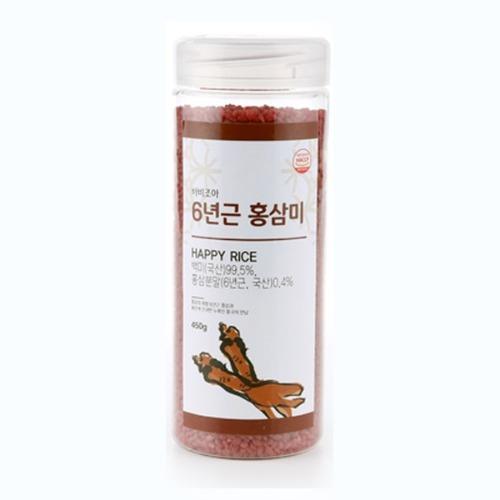 M 바비조아 6년근홍삼쌀 450g x 1통