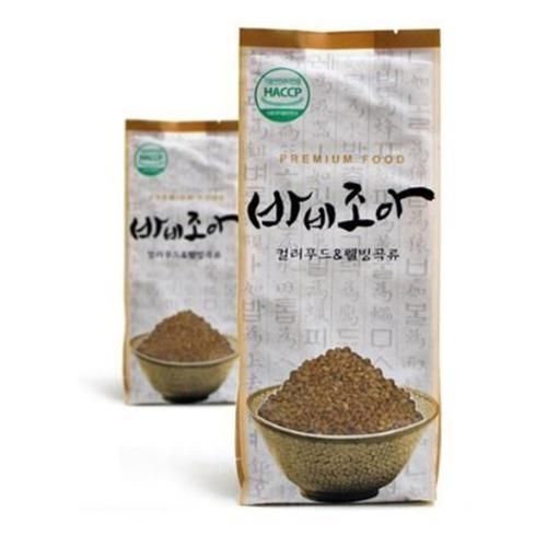 M 바비조아 차가버섯미 1kg x 1팩 - 차가버섯쌀