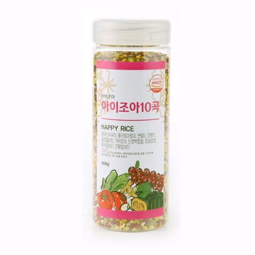 M 바비조아 아이조아10곡 450g x 1통 - 혼합곡쌀
