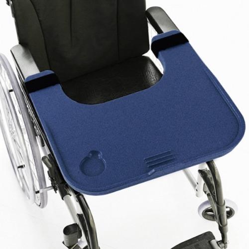 M 케어메이트 다용도 휠체어 테이블 CM504 남색 - 휠체어식탁