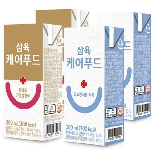 M 삼육케어푸드 환자식 200ml x 24개입 - 환자영양식
