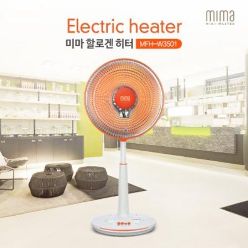 M [미마] 선풍기형 할로겐 히터 MFH-W3501