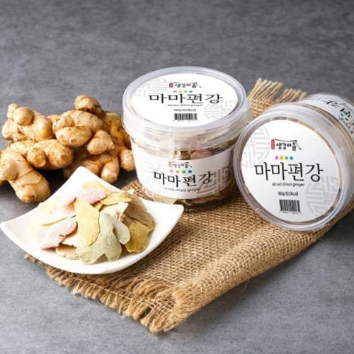 M 봉동생강마을 마마편강 160g - 생강과자 영양간식