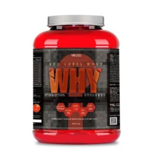 M 단백질보충제 와이 레드라벨 웨이 2.3kg - 헬스보충제