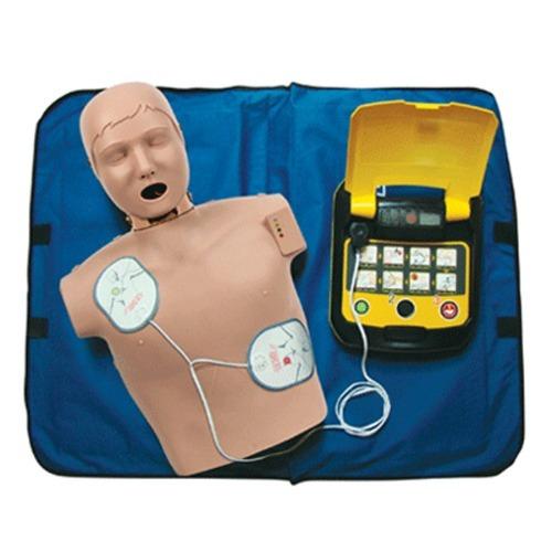 M CPR 실습마네킹 모니터형 + 교육용 제세동기세트