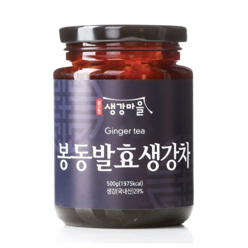 M 봉동 발효 생강차 보틀 500g