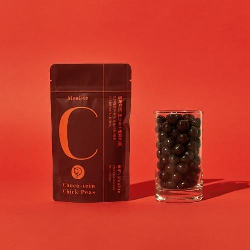 M 밀라이트 초코틴 90g x 3팩 - 무설탕 병아리콩 초콜릿