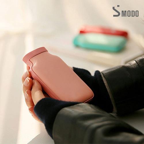 M 에스모도 양면발열 보틀형 휴대용 손난로 보조배터리5000mah SMODO-285