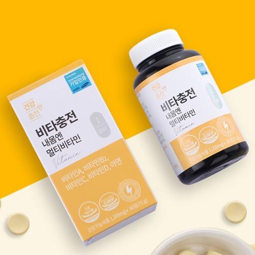 M 건강충전 비타충전 내몸엔 멀티비타민 60정