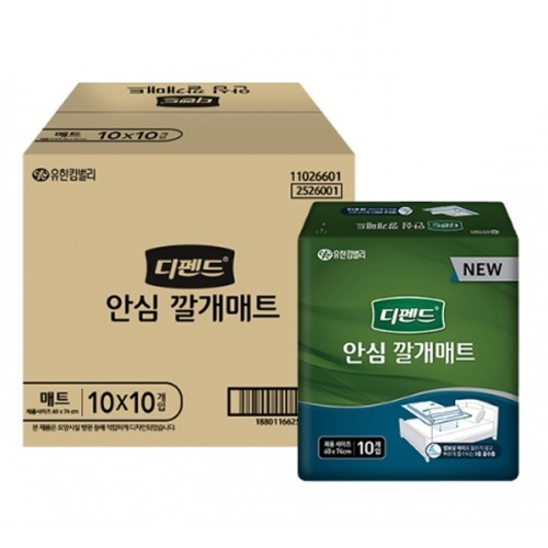 M 디펜드 안심깔개매트 OC 100매 - 2526001