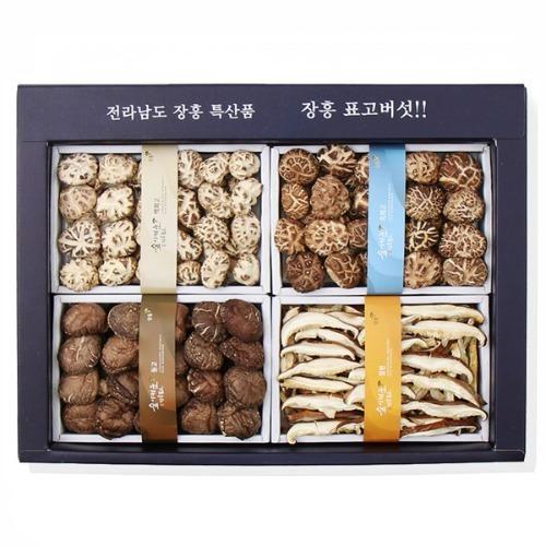 M 정남진 장흥 표고버섯 백화고 혼합특선2호 450g 선물세트
