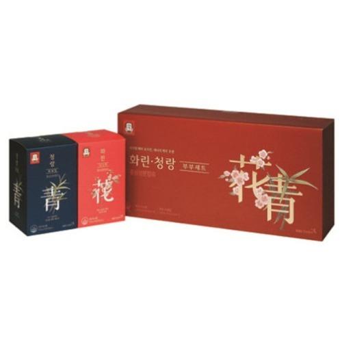 M 정관장 화린청랑 부부세트 70ml x 40포 + 쇼핑백