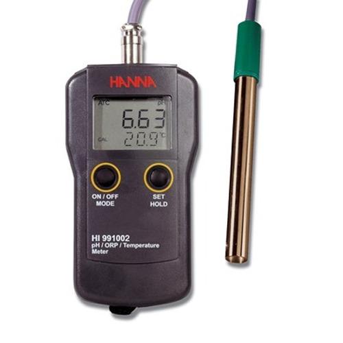 M 한나 휴대용 pH/온도측정 HI-991001 pH측정기