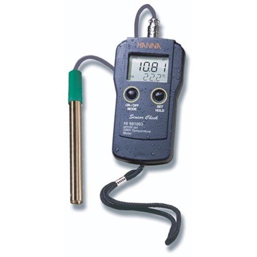 M 한나 휴대용 pH/온도 측정 HI-991003 pH측정기