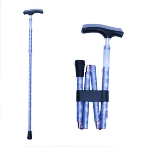 M 홈케어 3단 접이식 알루미늄 지팡이 606SA-HC8066 휴대주머니포함