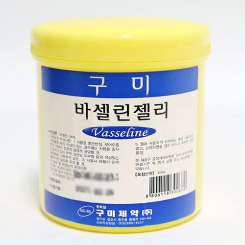 M 구미제약 바셀린젤리 450g - 바세린