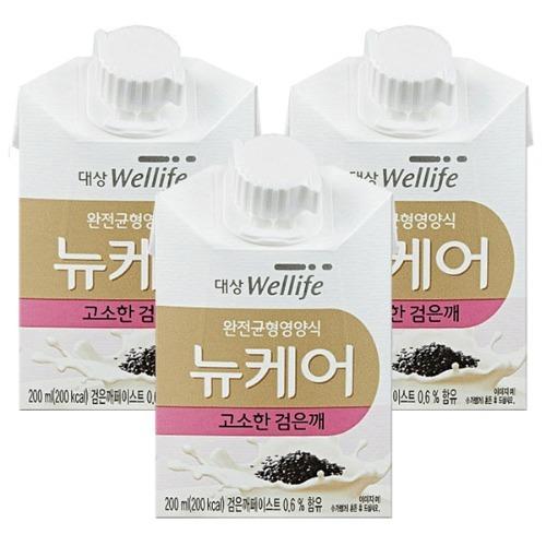M 뉴케어 고소한검은깨 200ml x 60팩 - 환자영양식