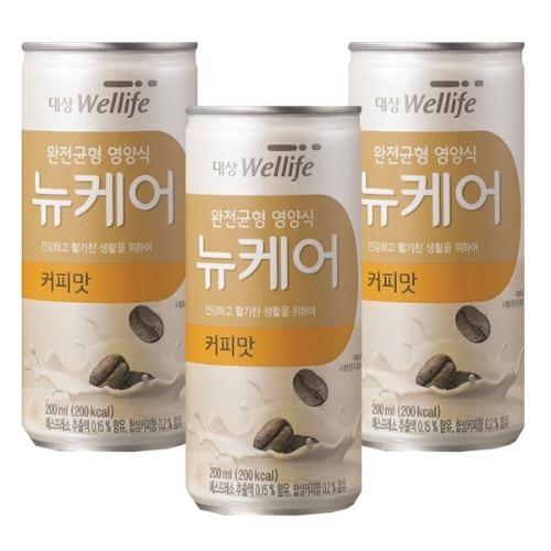 M 뉴케어 커피맛 200ml x 60캔 - 식사대용 환자영양식