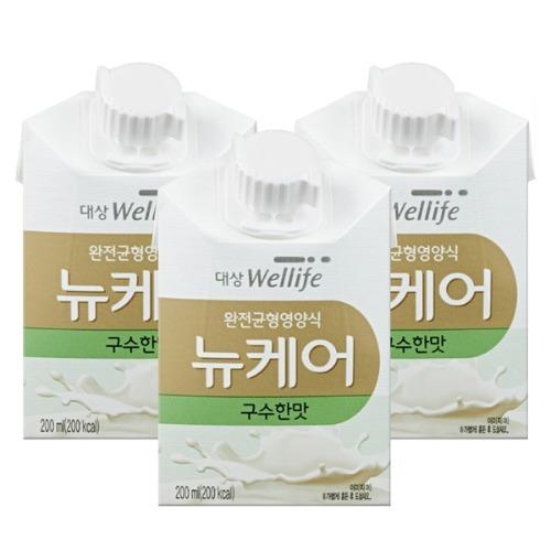 M 뉴케어 구수한맛 아셉틱 200ml x 60팩 - 환자영양식
