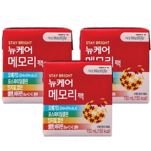 M 뉴케어 메모리팩 150ml x 24팩 - 식사대용 영양식