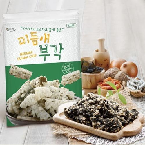 M 미듬애 부각 다시마 대용량 150g x 3봉지 - 김부각