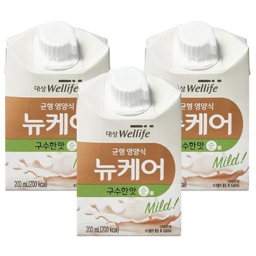 M 뉴케어 구수한맛순 아셉틱 200ml x 30팩 - 환자영양식