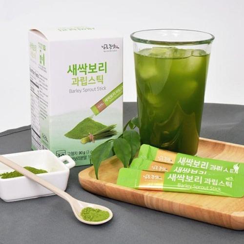 M 새싹보리 과립스틱 3g x 30포 - 새싹보리분말